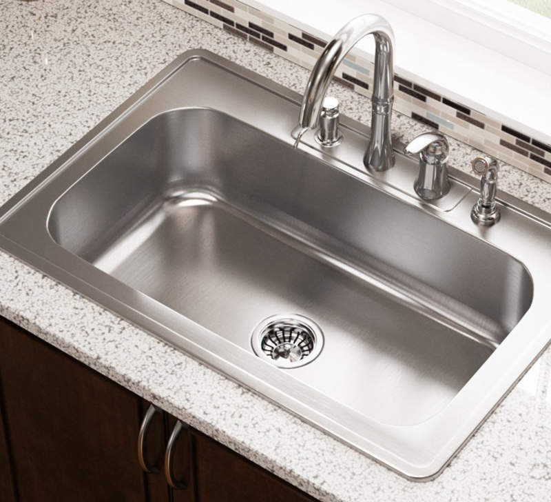 Enjoyable Best Drop In Kitchen Sinks Reviews Buyers Guide 2019 Complete Home Design Collection Lindsey Bellcom