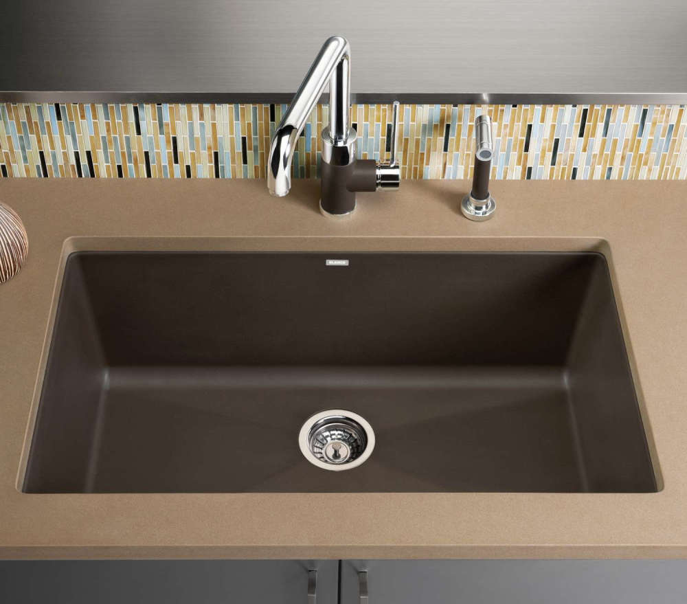 Bon Blanco Precis Single Bowl Granite Composite Sink