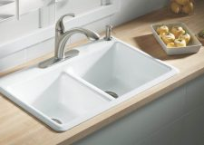 Cast Iron Kitchen Sinks - Header Image - TypesOfKitchenSinks.com