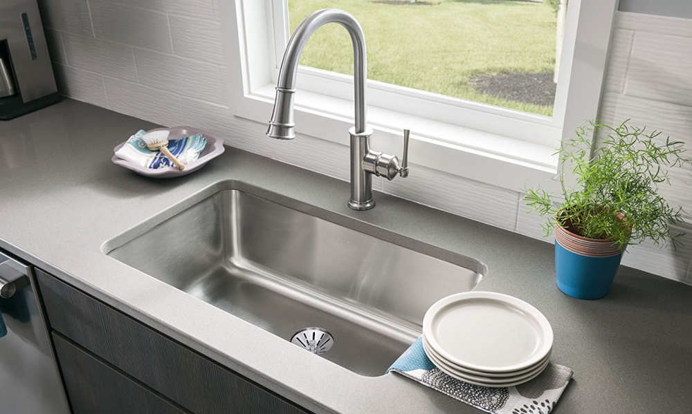 Elkay Eluh281610pd Gourmet Undermount Kitchen Sink