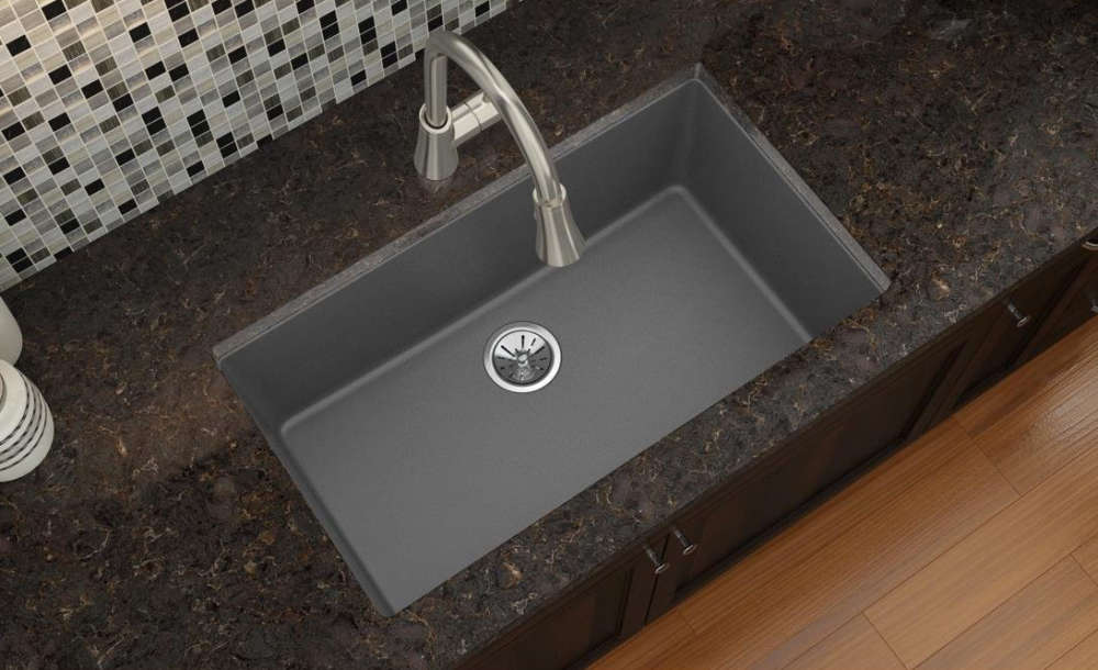 Elkay quartz composite sink