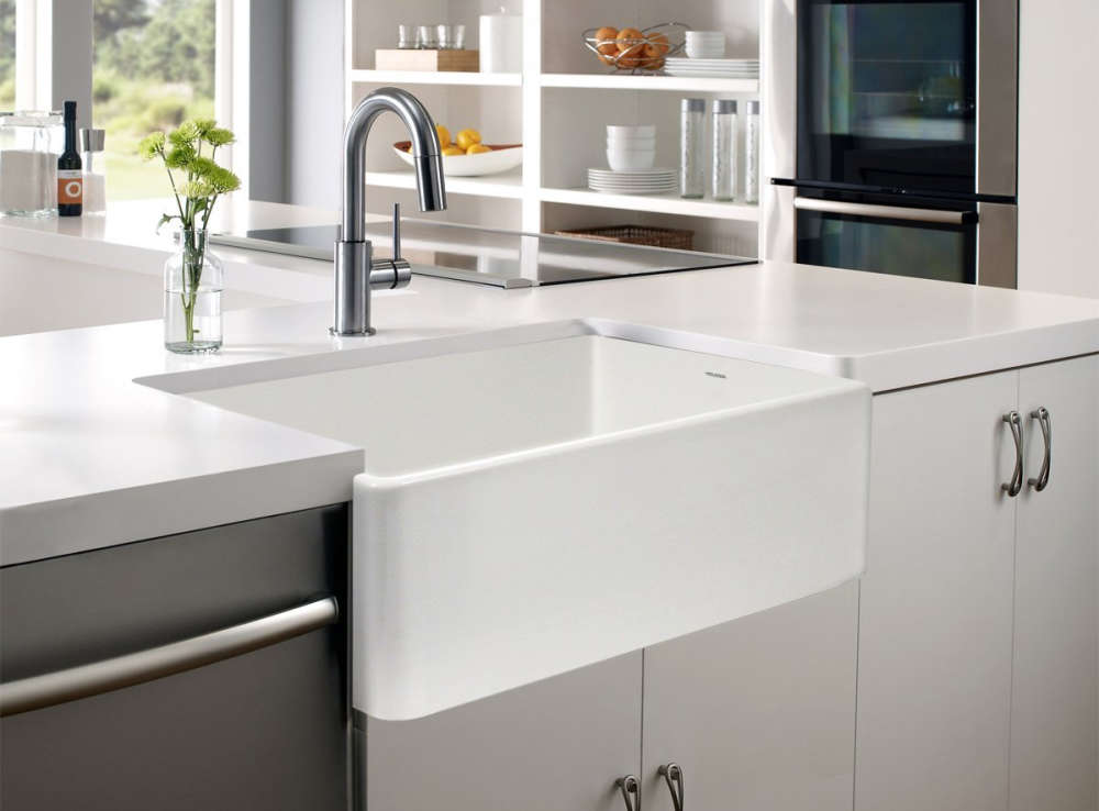 types of sinks for kitchen fireclay kitchen sinks a 3 minute guide the kitchen 8636
