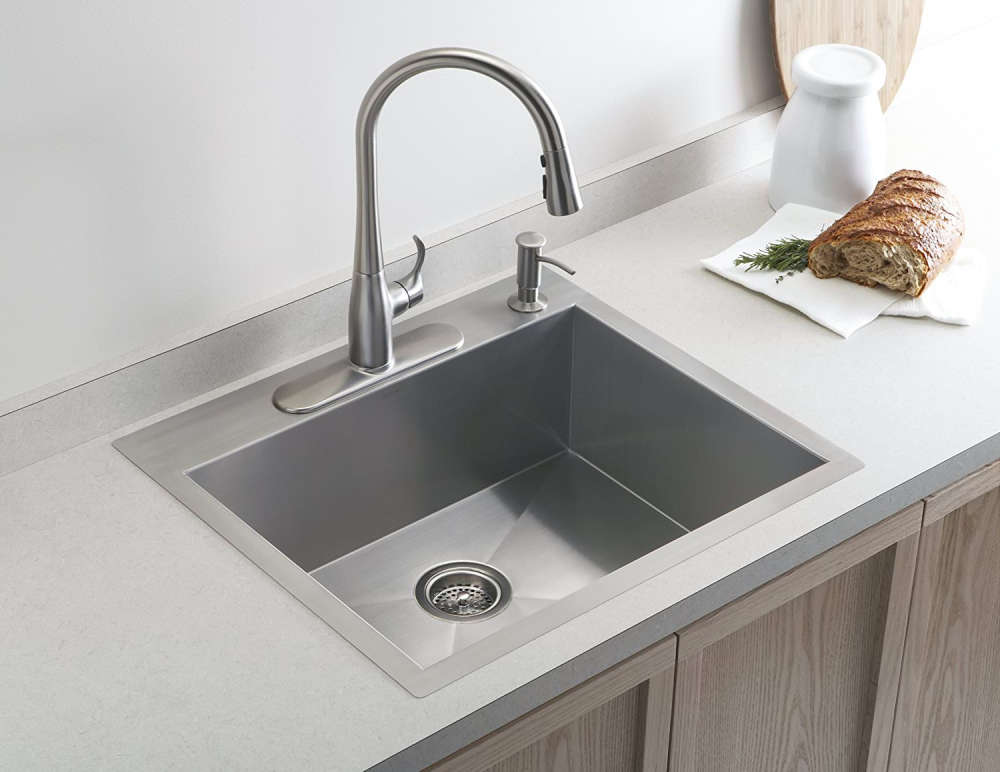Kohler K 3822 4 Na Vault Single Basin Kitchen Sink