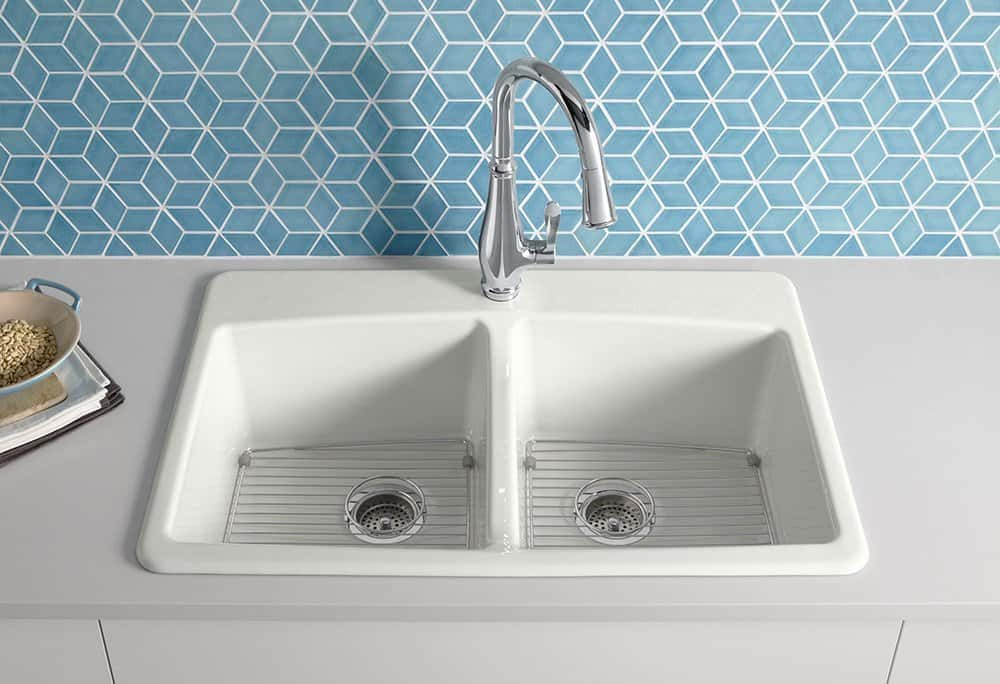 kohler k584610 brookfield cast iron sink