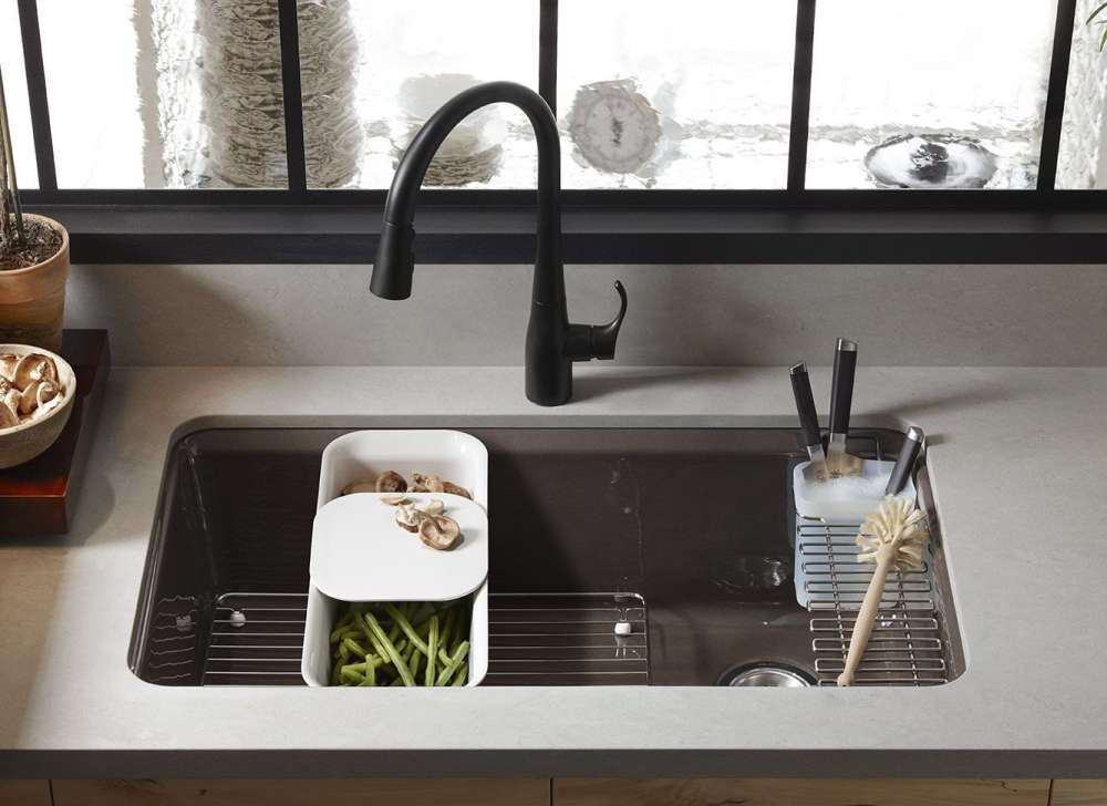 kohler single basin kitchen sink single bowl kitchen sink a 3 minute guide the kitchen 8821