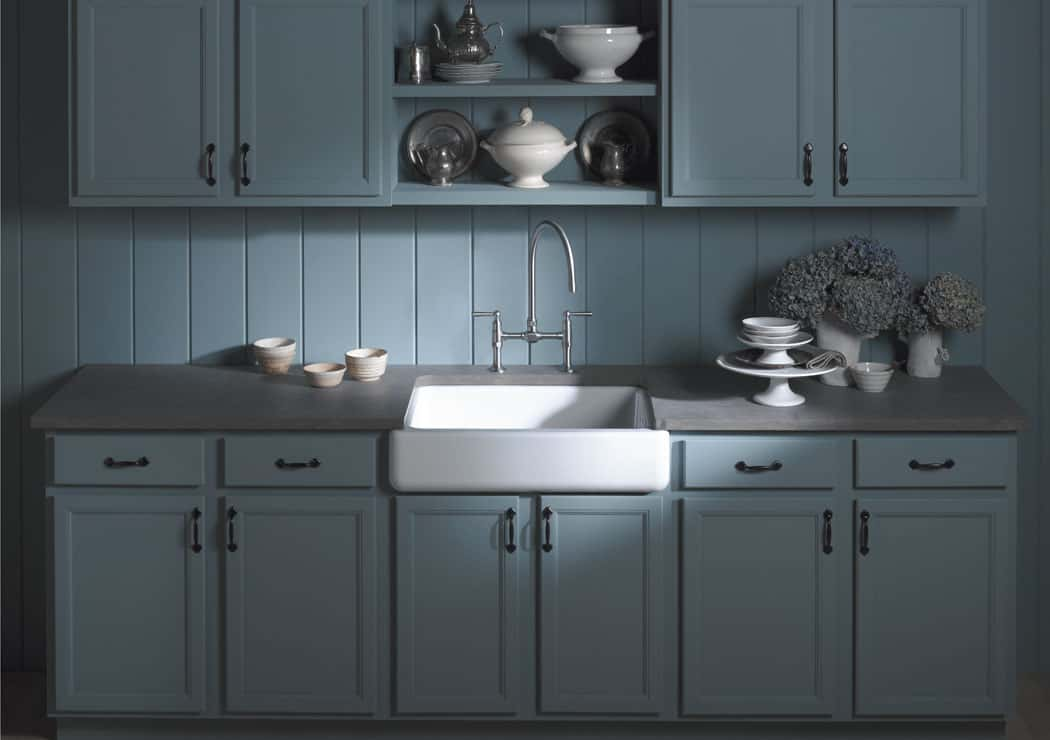 Kohler K-6488-K4 Whitehaven Apron Front Kitchen Sink - Image 2 - The ...