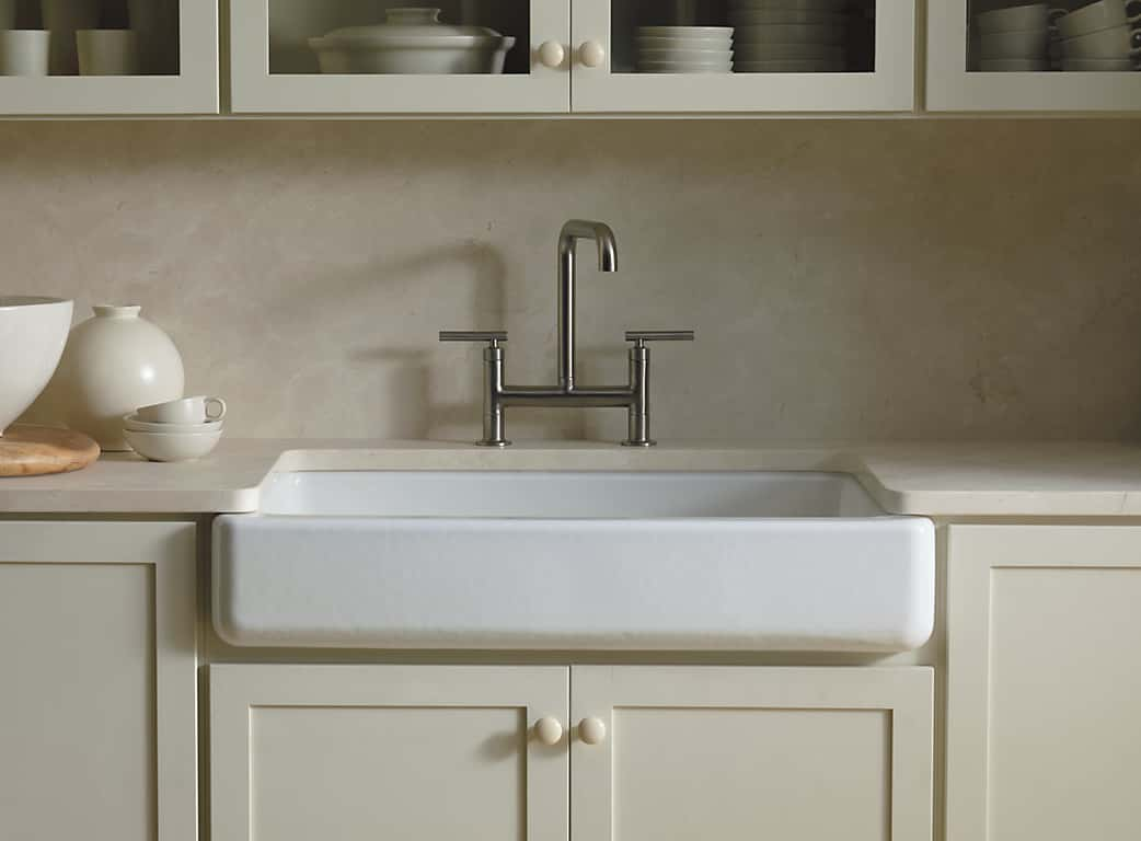 Kohler K 6488 0 Whitehaven Farmhouse Sink