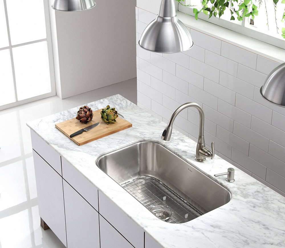 Kitchen Sink Buying Guide: Single Bowl Kitchen Sink Buyer's Guide + Design Ideas