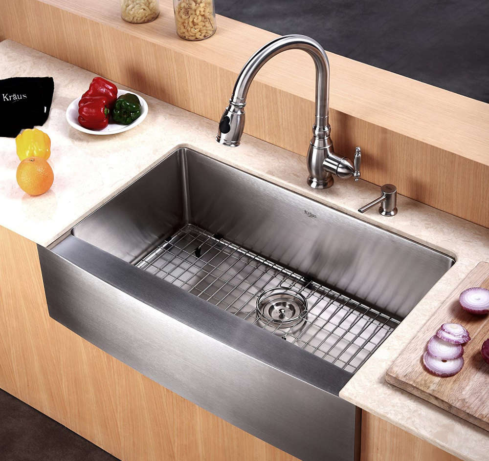 Kitchen Sink Buying Guide: Stainless Steel Kitchen Sinks Buyer's Guide + Design Ideas