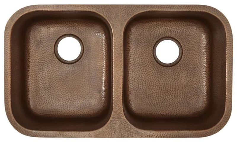 Sinkology Kandinsky Copper Kitchen Sink
