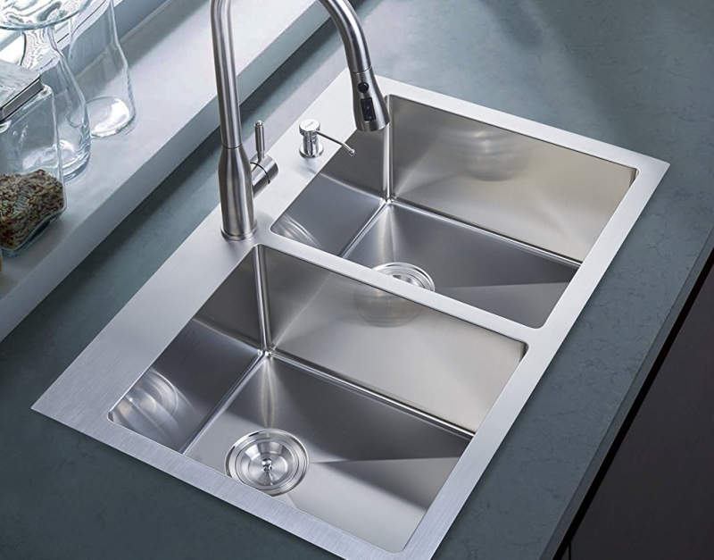 Surprising Best Drop In Kitchen Sinks Reviews Buyers Guide 2019 Complete Home Design Collection Lindsey Bellcom