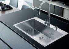 Stufurhome NW-3322SO Overmount Stainless Steel Single Bowl Kitchen Sink