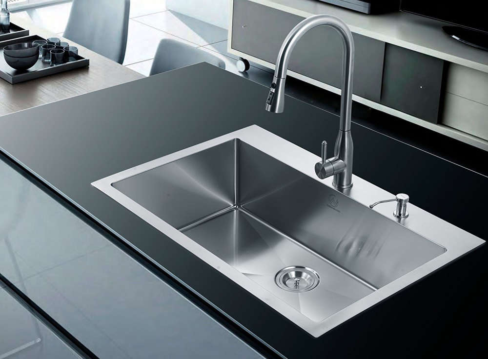 Single Bowl Kitchen Sink Buyer\'s Guide + Design Ideas & Pictures